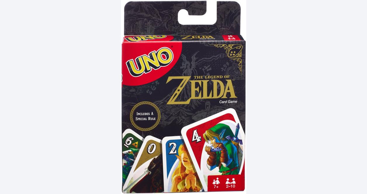 UNO The Legend of Zelda Card Game - Only at GameStop