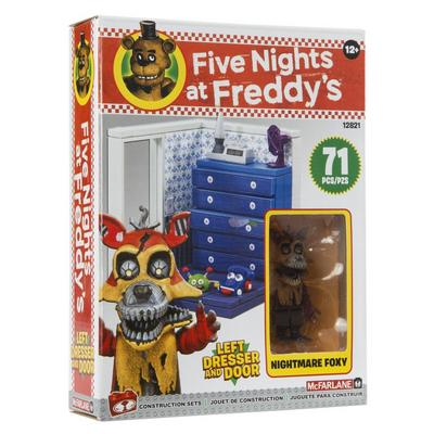 Five Nights At Freddy's Small Construction Set - Left Dresser and Door
