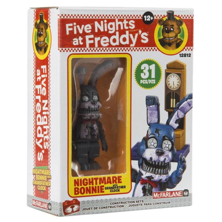 Five Nights At Freddy's Micro Construction Set - Grandfather Clock