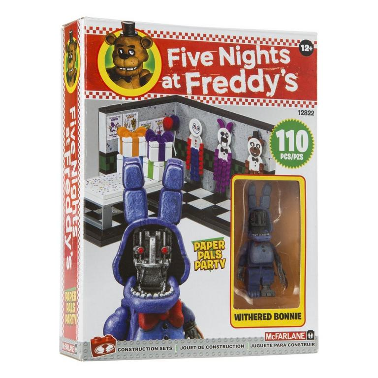 Five Nights At Freddy's Small Construction Set - Paper Pals Party