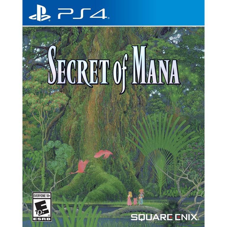 Secret of Mana Only at GameStop