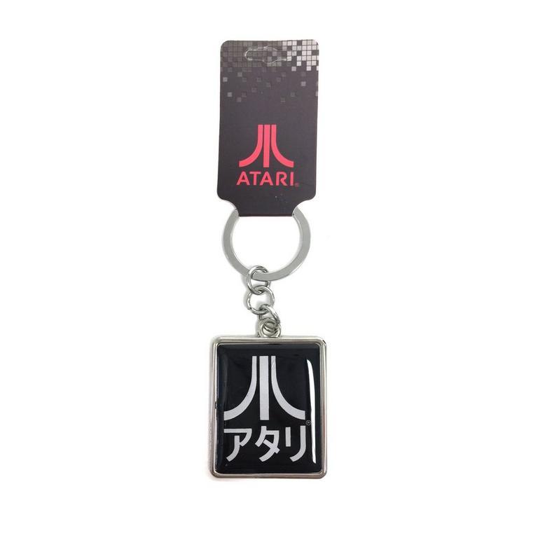 Atari Black Keychain