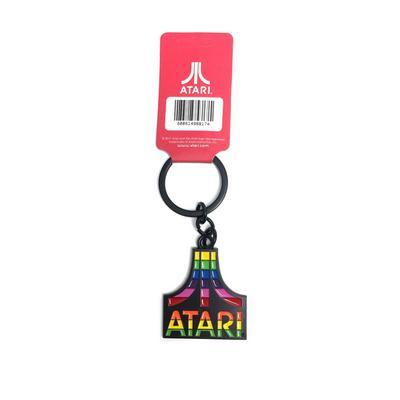 Atari Rainbow Keychain