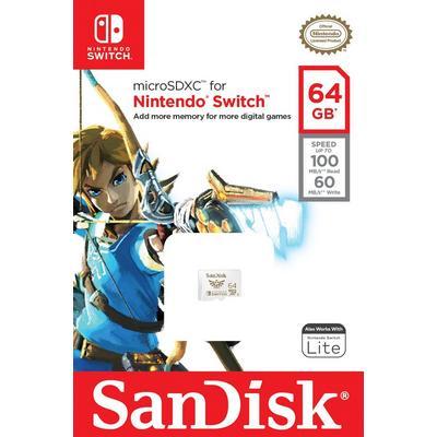 Nintendo Switch 64GB MicroSDXC Card