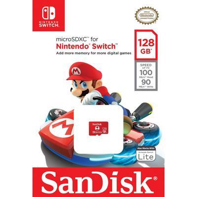Nintendo Switch 128GB MicroSDXC Card