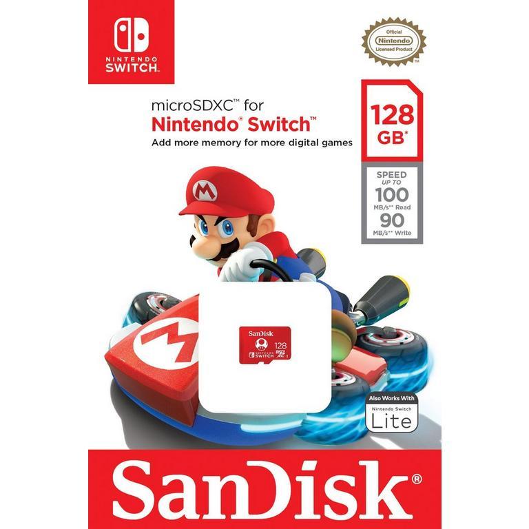 microSDXC Card 128GB for Nintendo Switch