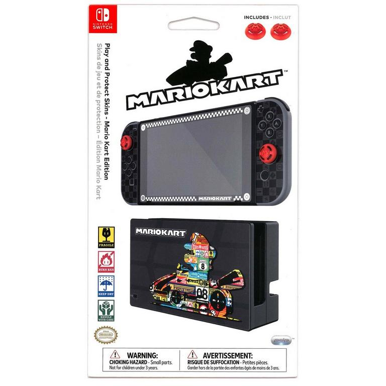 Light Switch Sticker vinyl cover decal Mario Mario Kart 8 64