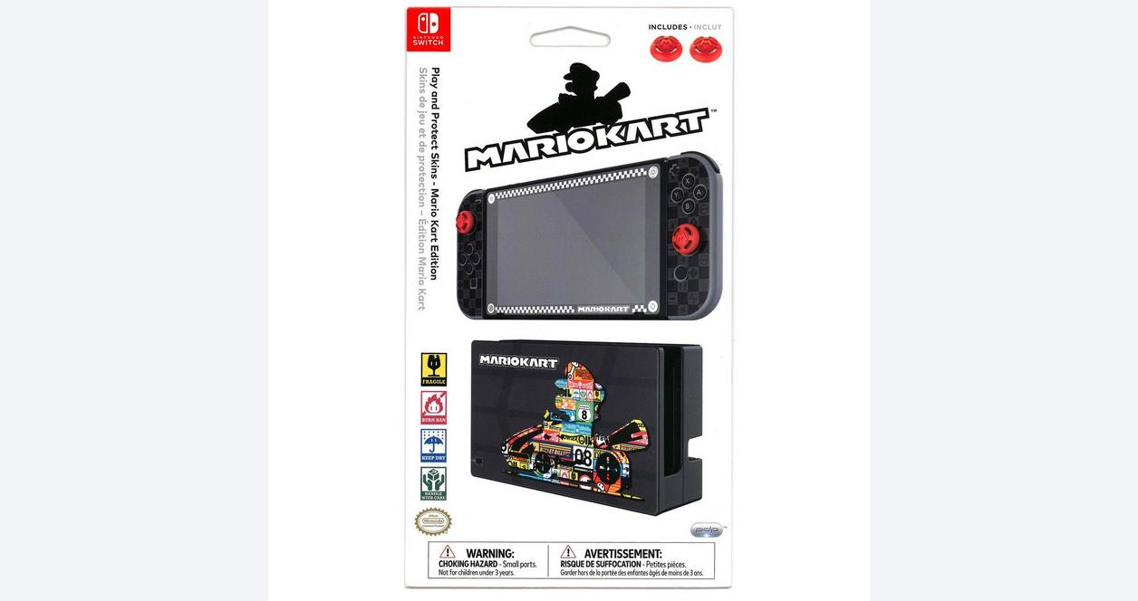 Nintendo Switch Play and Protect Skins - Mario Kart Edition | Nintendo  Switch | GameStop