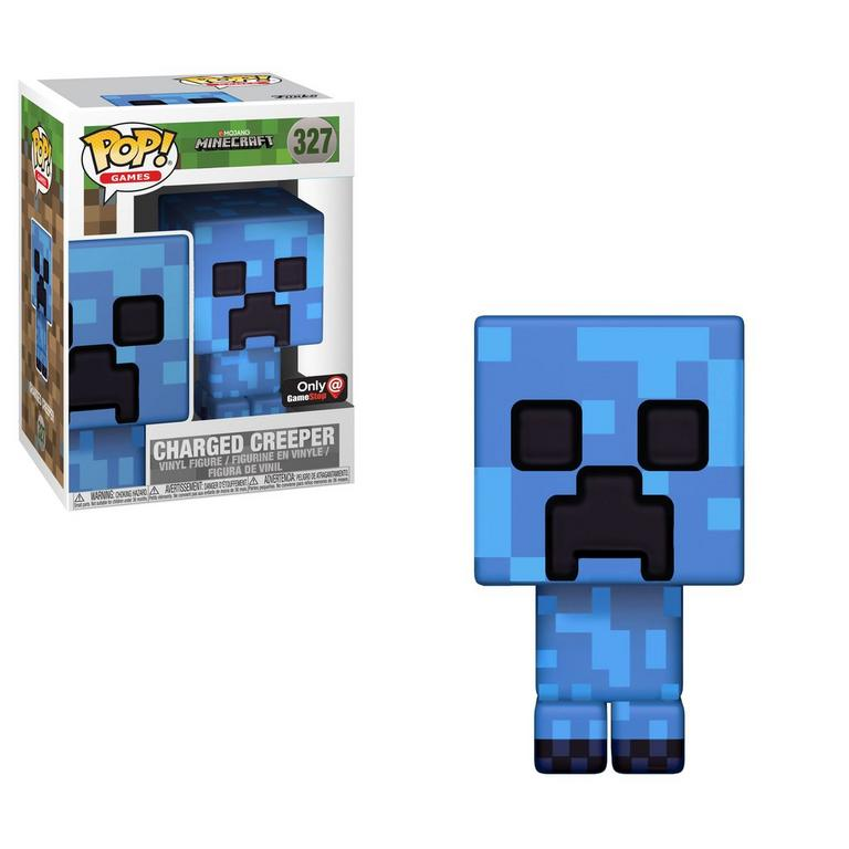 POP! Games: Minecraft Charged Creeper Only at GameStop