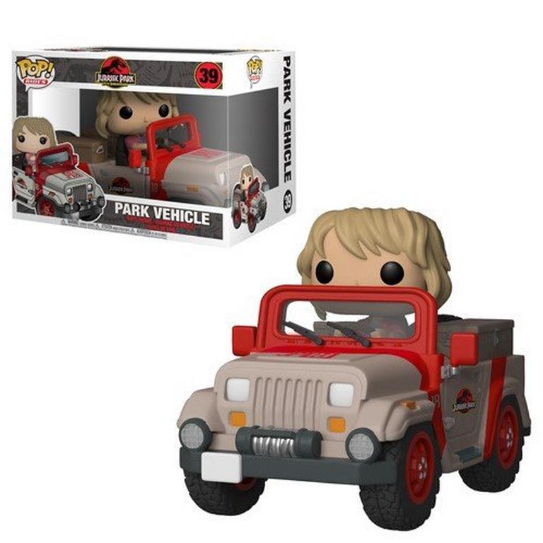 POP! Rides: Jurassic Park 25th Anniversary Park Vehicle