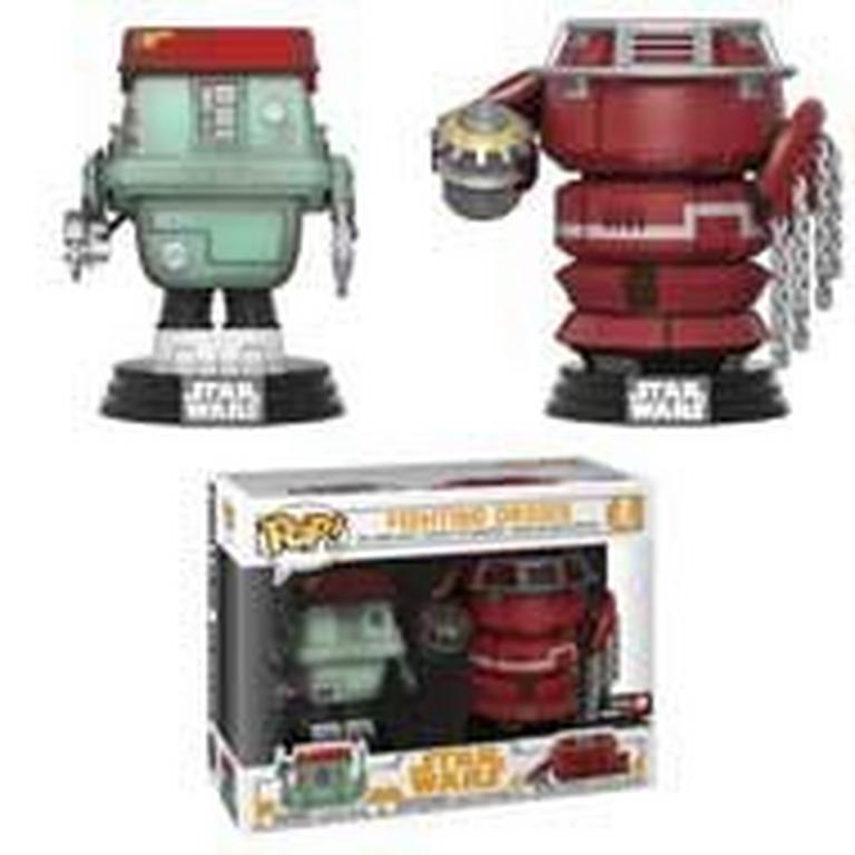 POP! Star Wars: Solo - Fighting Droids 2 Pack - Only at GameStop
