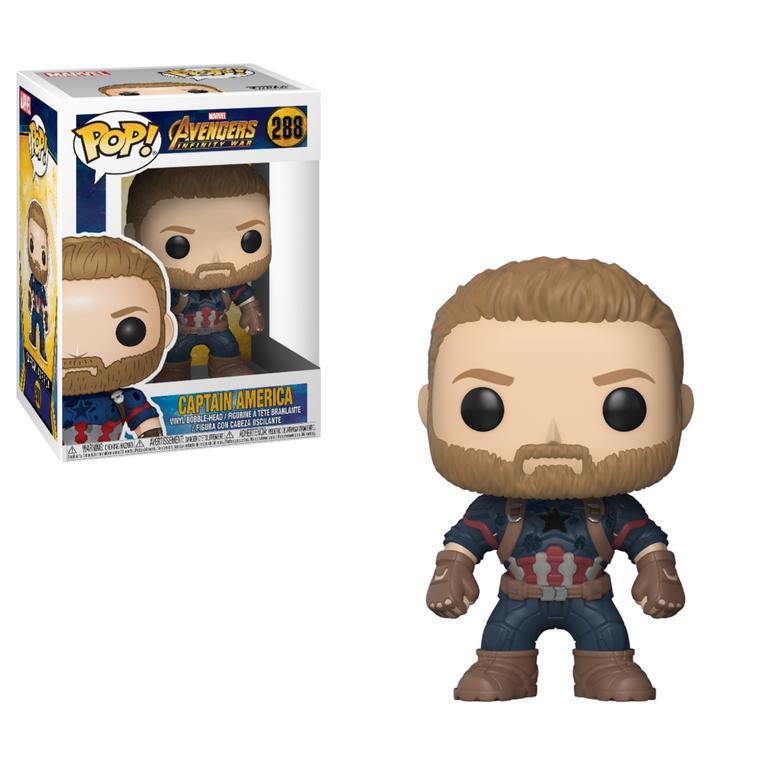 POP! Marvel: Avengers Infinity War - Captain America