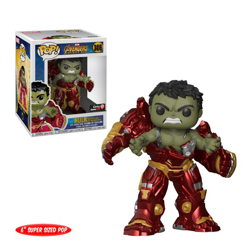 POP! Marvel: Avengers Infinity War - 6 inch Hulk Busting out of Hulkbuster - Only at GameStop