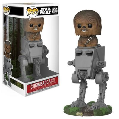POP! Star Wars - Deluxe Chewbacca in AT-ST