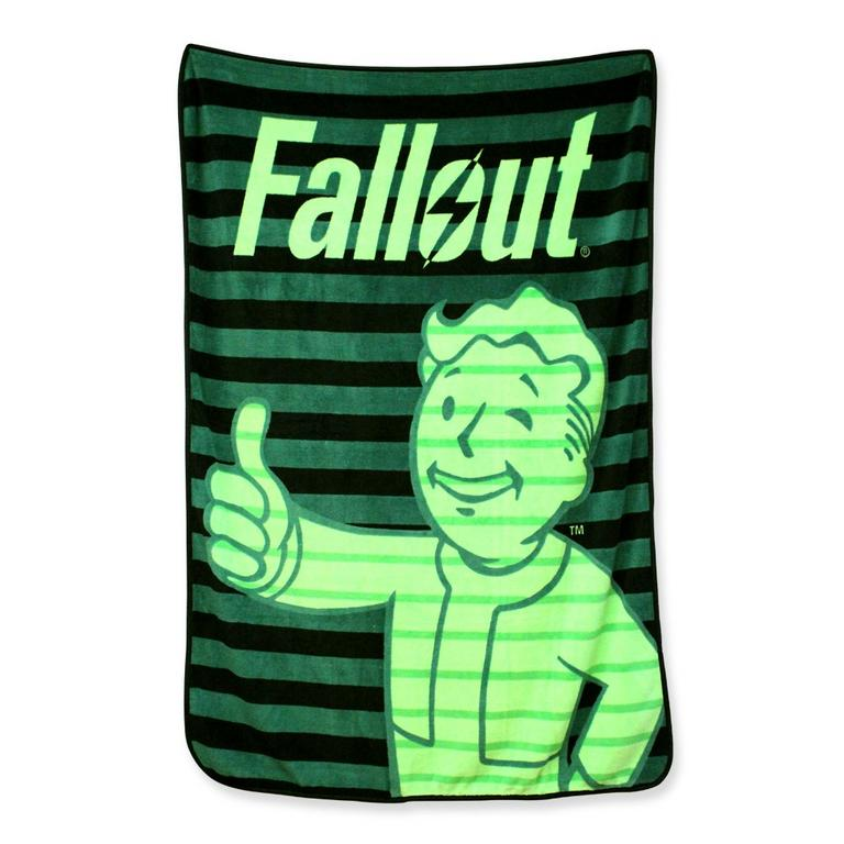 Fallout Pipboy Screen Blanket
