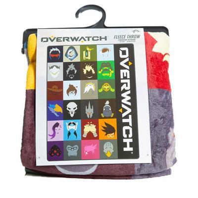 Overwatch Multi-Character Throw Blanket