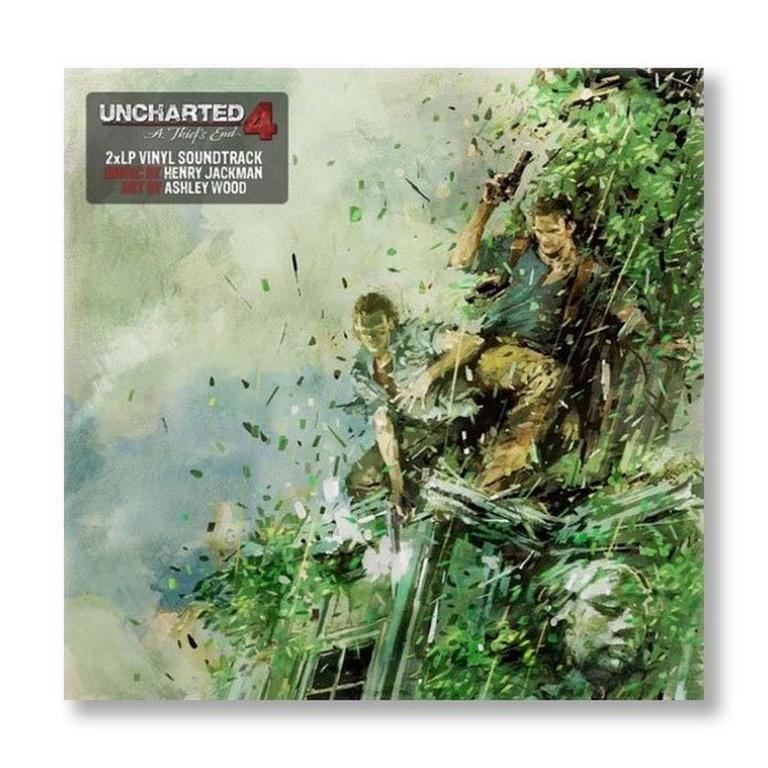 Uncharted 4 Vinyl 2LP