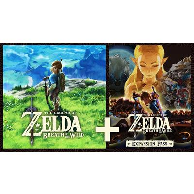 The Legend of Zelda Breath of the Wild and Expansion Pass Bundle
