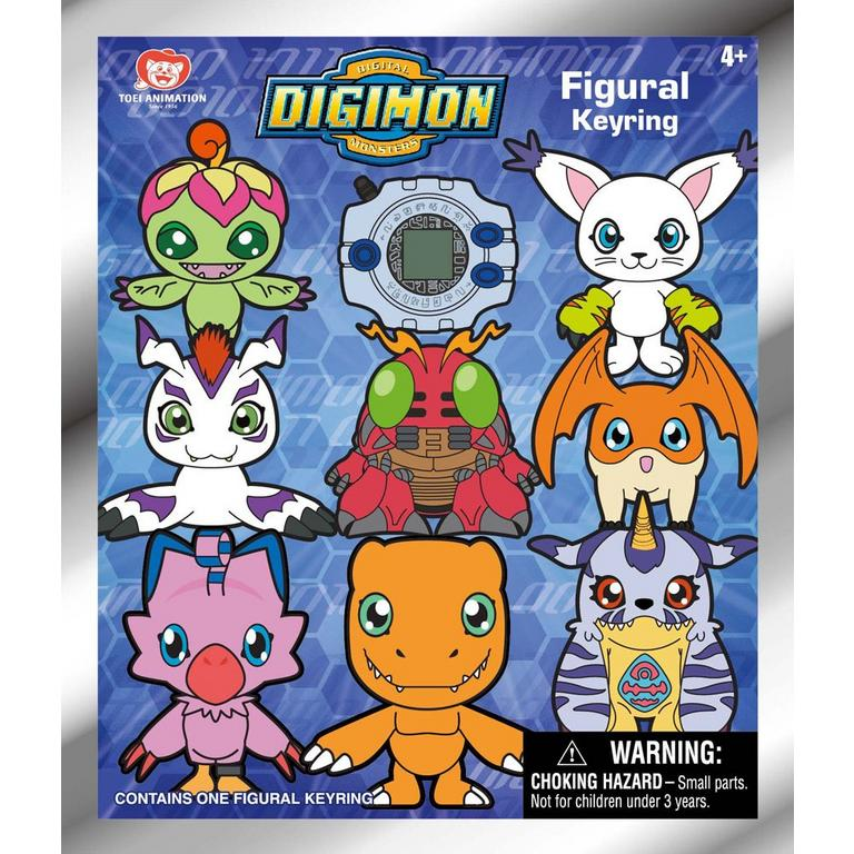 Digimon Blind Bag Figure Keychain