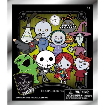 The Nightmare Before Christmas Series 3 3D Foam Figure Blind Bag