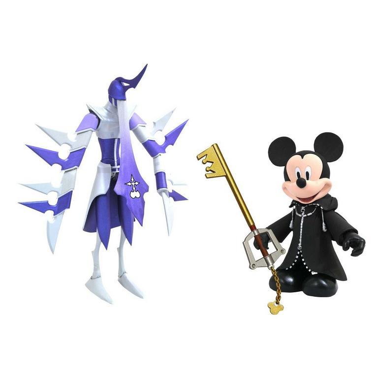 Kingdom Hearts Organization XIII Mickey and Assassin Action Figure