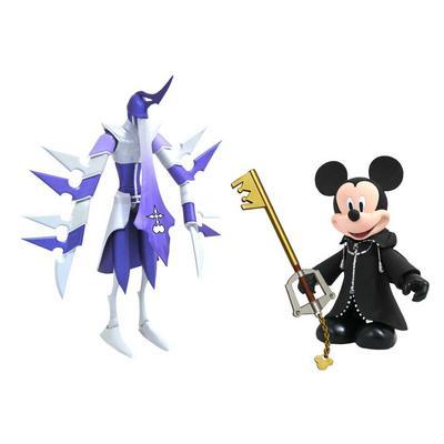 Kingdom Hearts Organization XIII Mickey and Assassin Figures