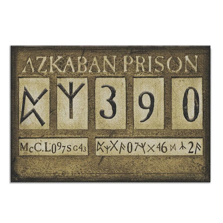 Harry Potter Azkaban Canvas 19x13 inch