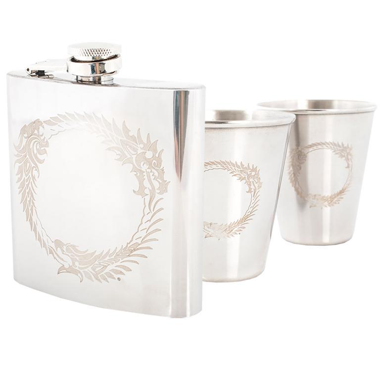 Ouroboros Flask Set