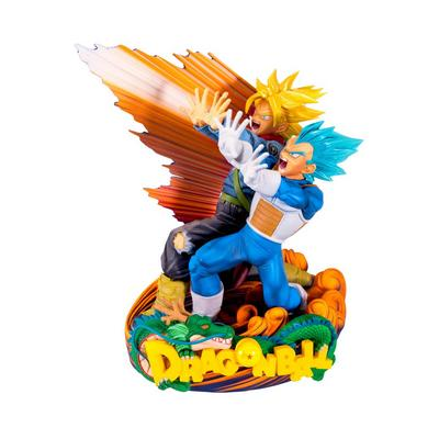 Dragon Ball Super - Super Master Stars Piece 7.8 inch Statue - Vegeta & Trunks - Only at GameStop