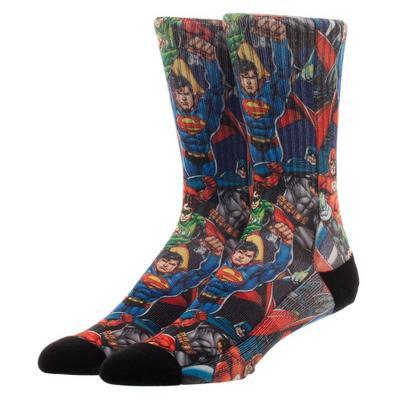 Justice League Mens Socks