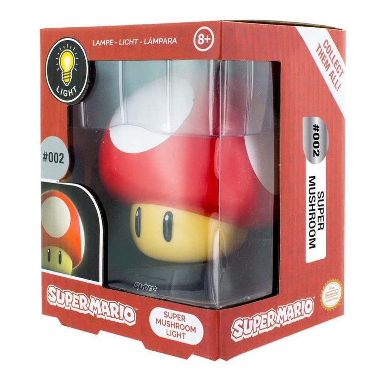 Super Mario Bros Mushroom 3d Light Gamestop