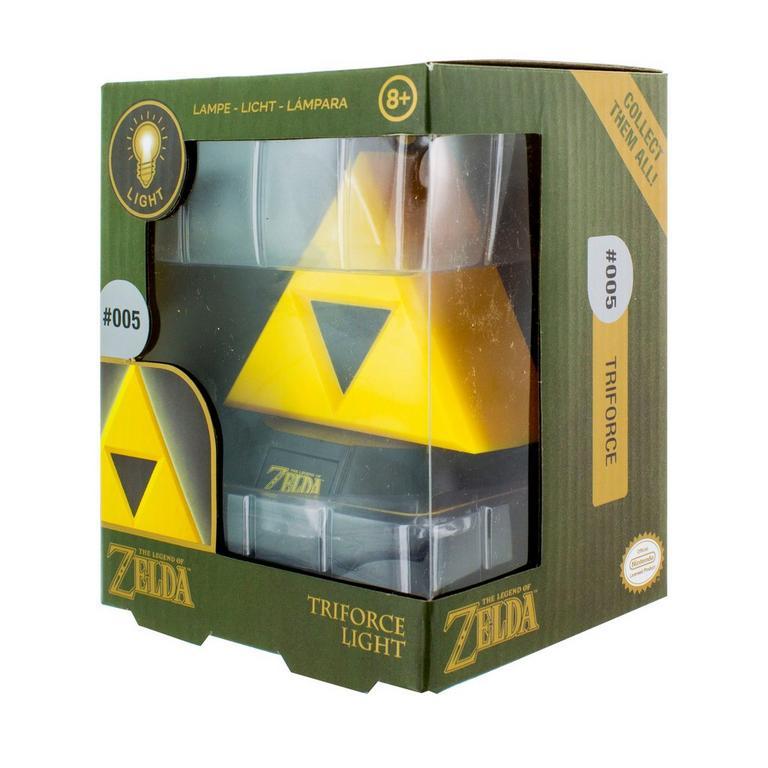 The Legend of Zelda Triforce 3D Light