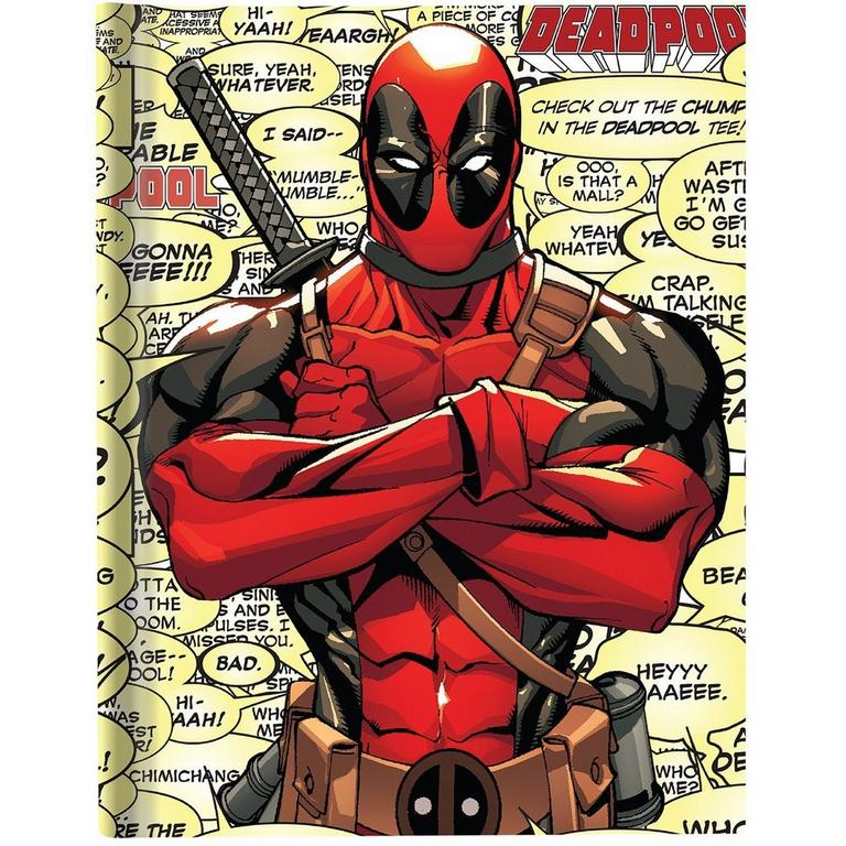 Deadpool Comic Sayings Journal