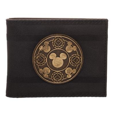 Kingdom Hearts Brown Bifold Wallet
