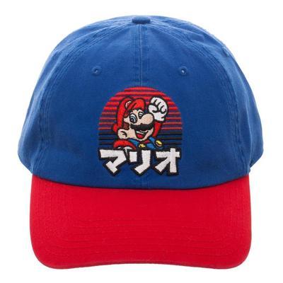 Super Mario Bros. Kanji Baseball Cap