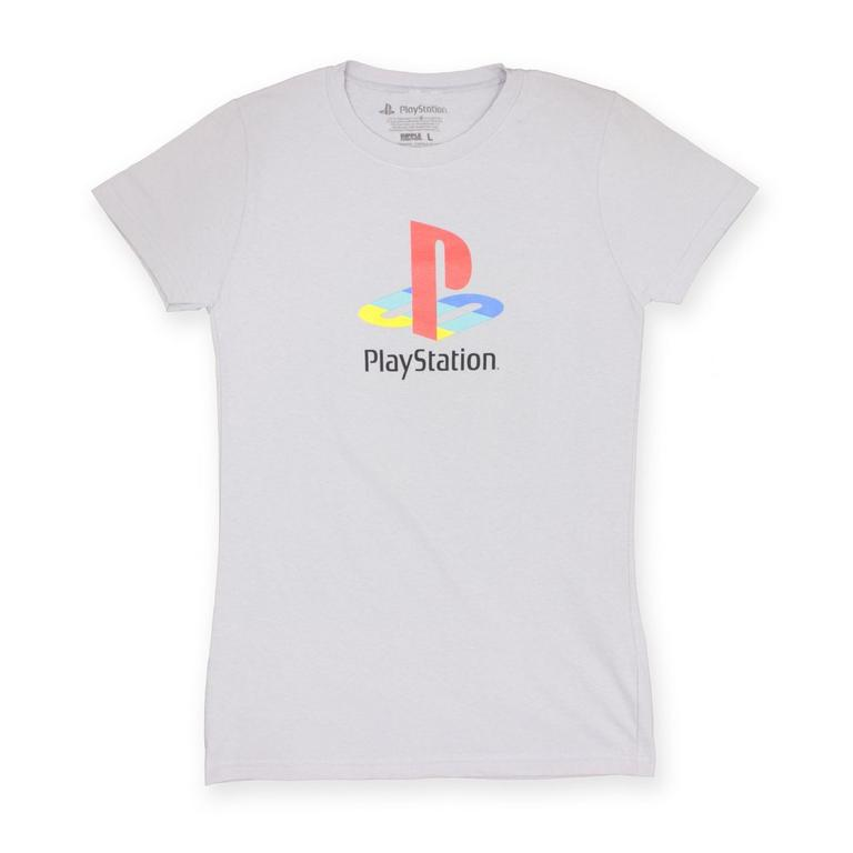 PlayStation One Logo Ladies T-Shirt