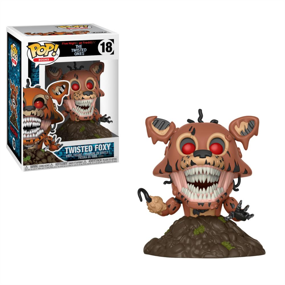 POP! Books: Five Nights at Freddy's - Twisted Foxy | GameStop