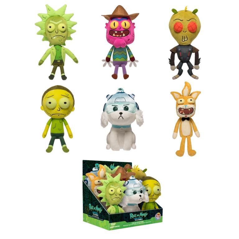 Galactic Plushies: Rick & Morty Plush (Assortment)