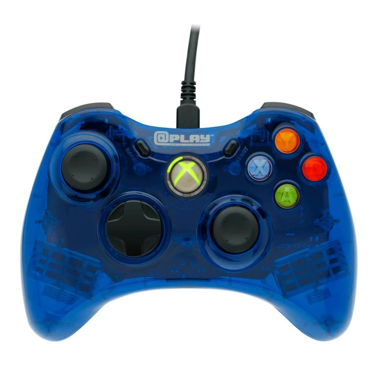 Blue Wired Controller for Xbox 360
