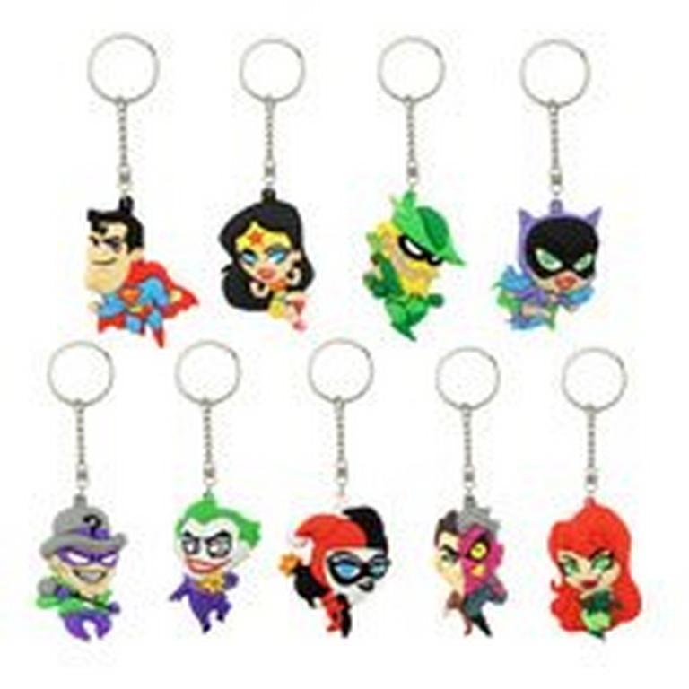 DC Comics Justice League Blind Box Vinyl Keychains (Assortment)