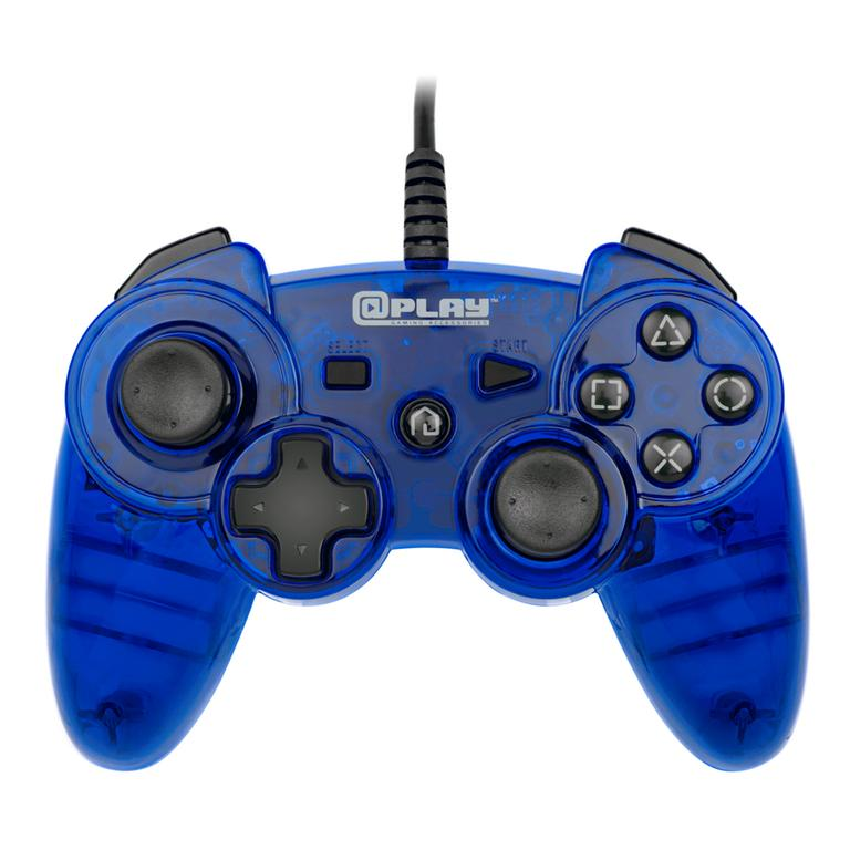 Blue Wired Controller for PlayStation 3