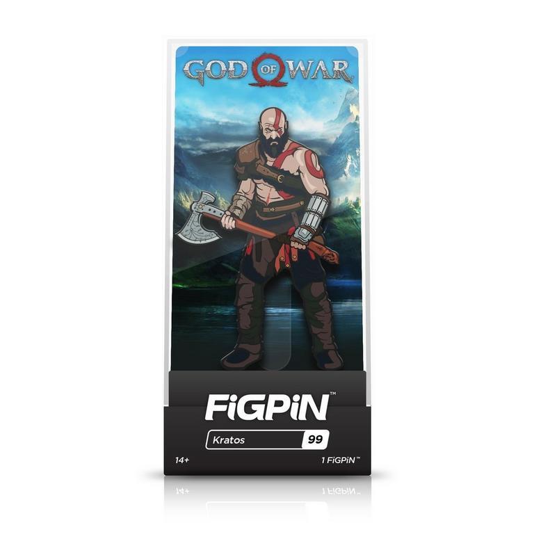God of War Kratos FiGPiN