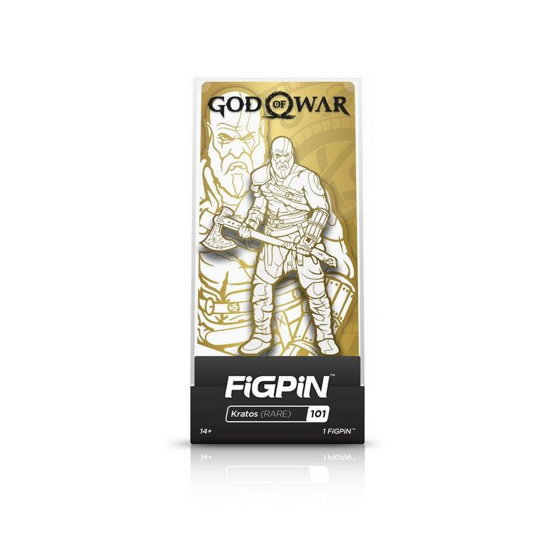 God of War Gold Kratos FiGPiN Only at GameStop