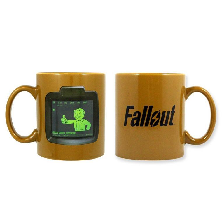 Fallout Vaultboy Pip Mug