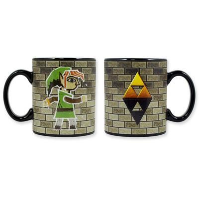 Legend of Zelda Link Chalk Art Mug