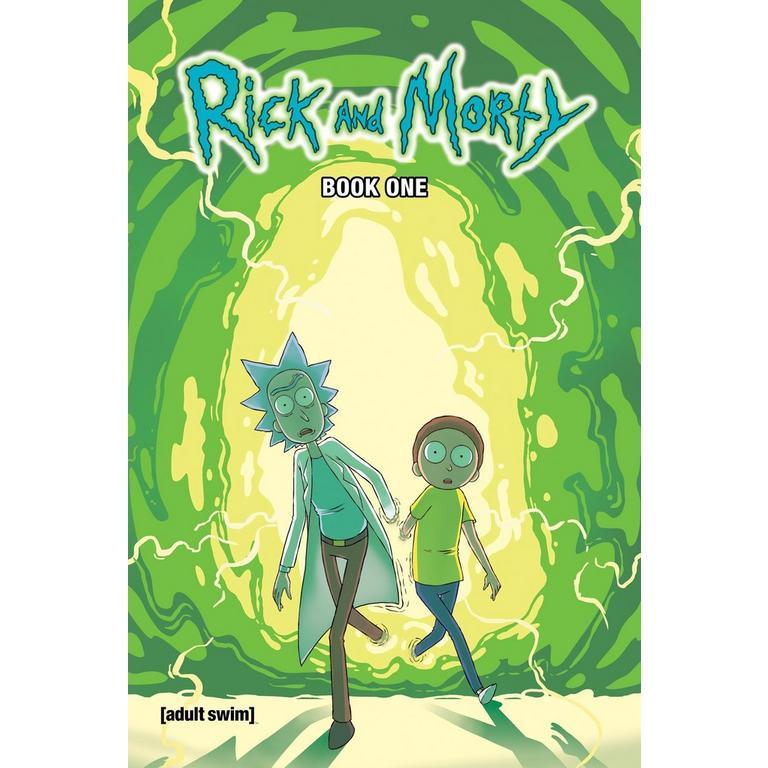 Rick & Morty Comic Book Volume 1 Deluxe Edition