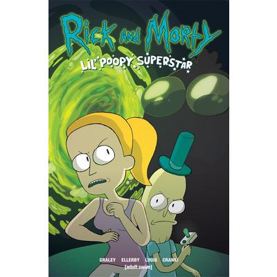 Rick & Morty Comic Book - Lil Poopy Superstar