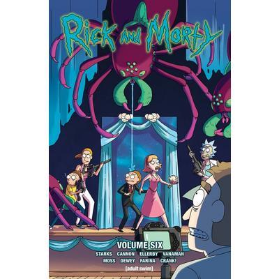 Rick & Morty Comic Book Volume 6