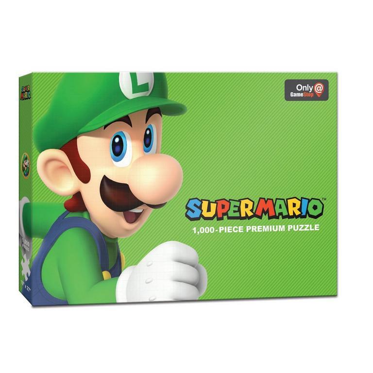 Super Mario Bros. Luigi Premium Puzzle Only at GameStop