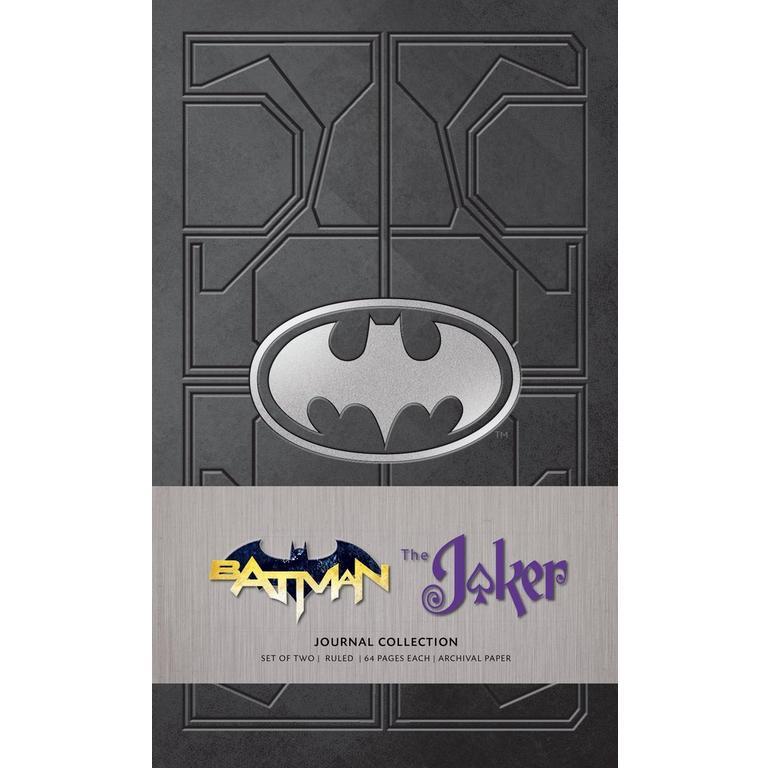 Batman and The Joker Journal 2 Pack